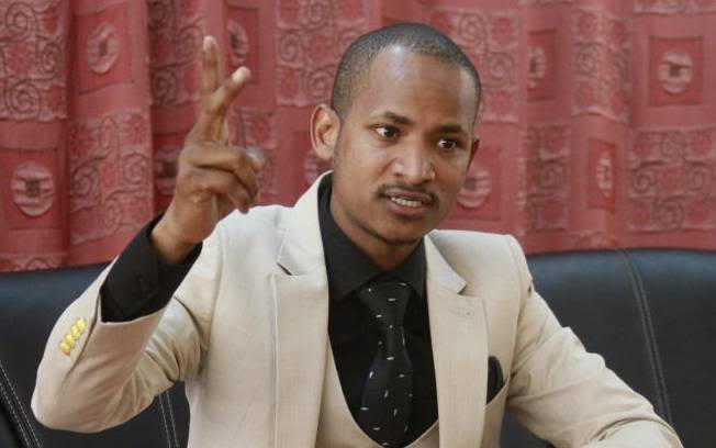 Embakasi East MP, Babu Owino.