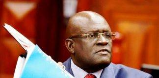Education Cabinet Secretary Prof. George Magoha.