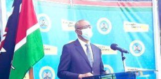 Cases of corona virus rise to 912 in Kenya.