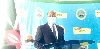 CS Health, Mutahi Kagwe.