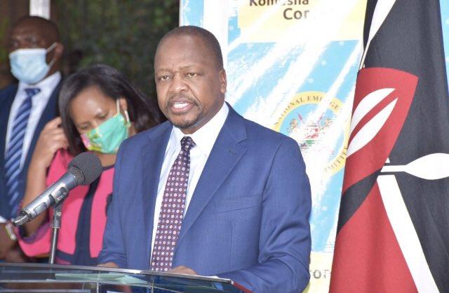 Health CS Mutahi Kagwe.