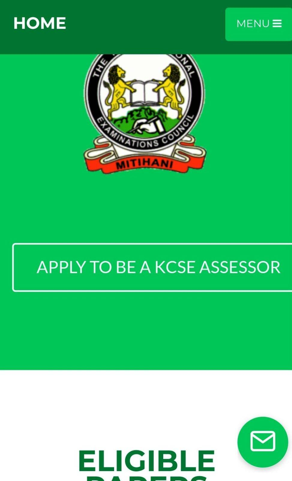 2020 KCSE examiners. KNEC contracted professionals.