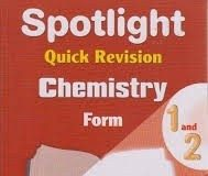 FREE FORM ONE CHEMISTRY NOTES. READ, PRINT OR DOWNLOAD