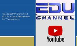 EDU TV channel KICD lessons timetable.