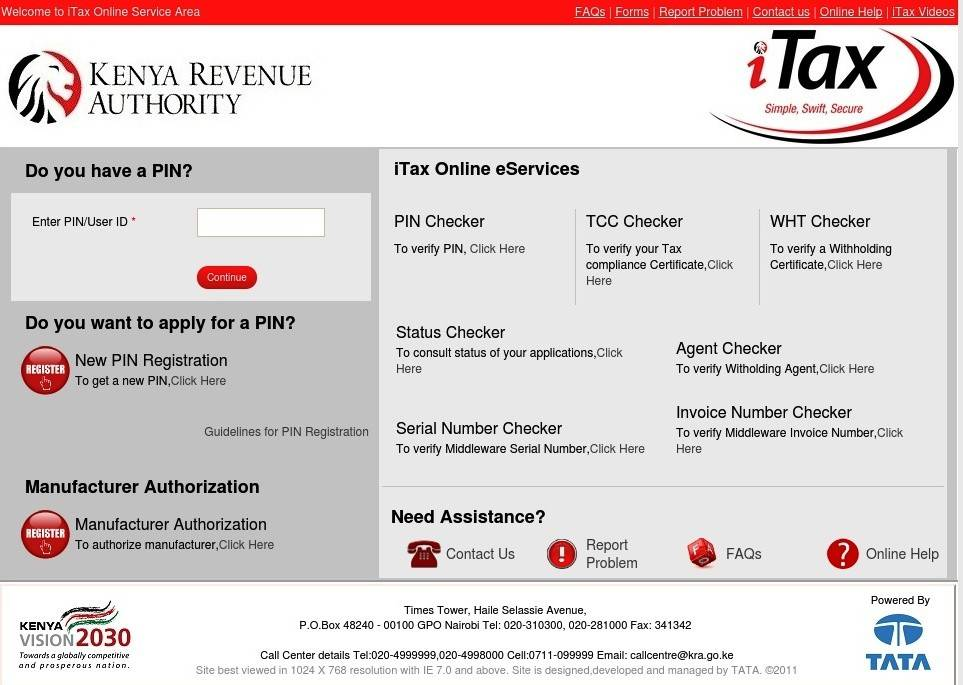 How to log into the iTax portal