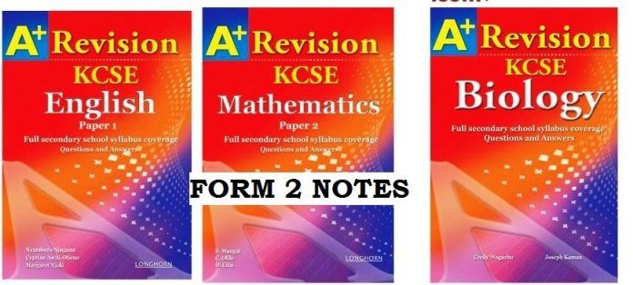 FREE FORM 2 SECONDARY SCHOOL NOTES. DOWNLOAD NOW.