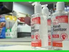 Hand sanitizers for use in Kenya. KEBS has banned the use of 8 hand sanitizers for being substandard.