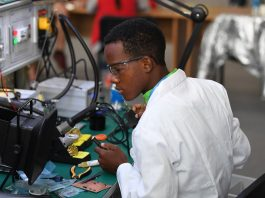 A TVET student. See new reopening dates and 2020 KASNEB, KNEC exams timetables for TVET students.