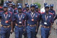 Private security officers. The Ministry of Education has ordered schools to employ lean support staff.