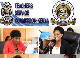 The Teachers Service Commission, TSC- Latest TSC news.