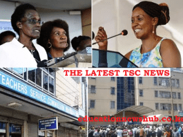 The latest TSC News; Teachers advised to use online platforms when in need of TSC services, instead of making physical visits.