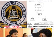 TSC Quality Assurance Officers, QASOs.