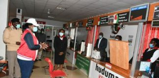 Huduma office in Nairobi . The offices have now been re-opened.