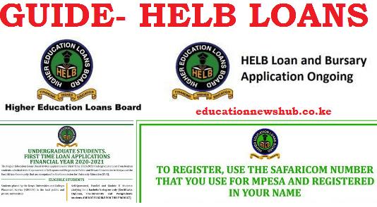 HELB loan application 2020/ 2021.