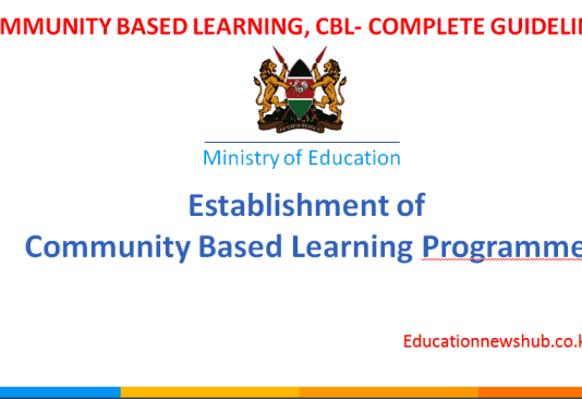 Community Based Learning, CBL, guidelines for all stake holders.