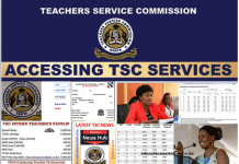 New ways on how to get TSC Services; Latest TSC News.