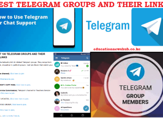 Top Telegram groups to join and their links.