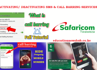 Call barring services guide.