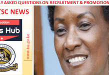 Get answers to TSC frequently asked questions on teachers recruitment and promotions.
