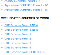 Free schemes of work downloads for all subjects.