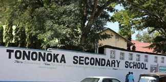 Tononoka Secondary school whose Principal succumbed to Corona virus disease.