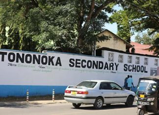 Tononoka Secondary school whose Principal succumbed to Corona virus disease.