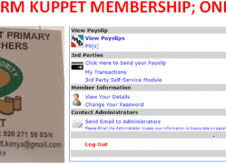 How to confirm Kuppet membership. Here is the simplified online procedure.