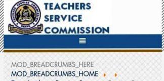 TSC pension for retired teachers.