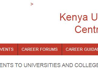 Kuccps 2021/2022 online applications