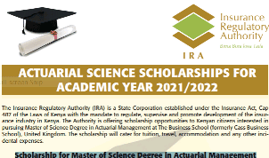 Acturaial Management scholarships