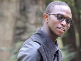 The 19-year old university students identified as Mose Fortunate Masungu; who drowned.