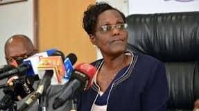Retired TSC Chair Dr Lydia Nzomo.