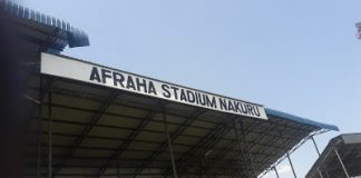 Afraha Stadium in Nakuru County.