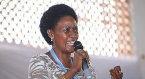 TSC Boss Dr. Nancy Macharia.