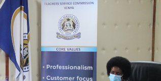 TSC Boss Dr Nancy Macharia.