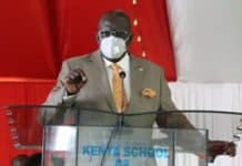 CS Education Prof. George Maghoha at the Kenya School of Government on Thursday March 4, 2021.