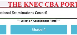 The KNEC CBA Portal Login