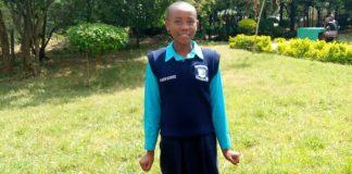 Faith Mumo from Kari Mwailu Primary School.