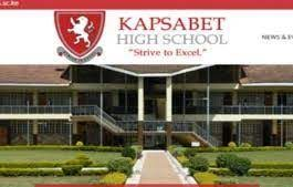 Kapsabet Boys KCSE 2020/2021 performance.