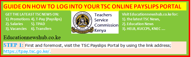 TSC payslips online. Your complete guide on registration, login and payslips download.