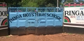 Ringa Boys High School.