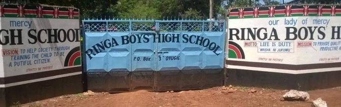 Ringa Boys High School.