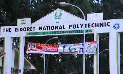 The Eldoret National Polytechnic.