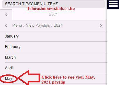 TSC Payslips online at the T-Pay portal.
