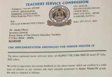 TSC new salaries for employed teachers.