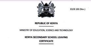 Kenya Secondary School Leaving Certificate