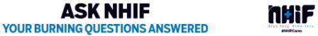 NHIF Frequently Asked Questions And Answers.